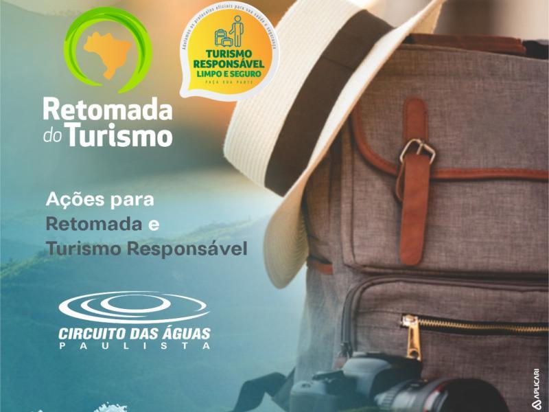 Circuito das Águas Paulista se prepara para a retomada do Turismo