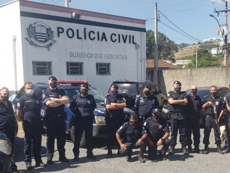 Operação derruba tráfico no Jardim Triunfo, em Pedreira