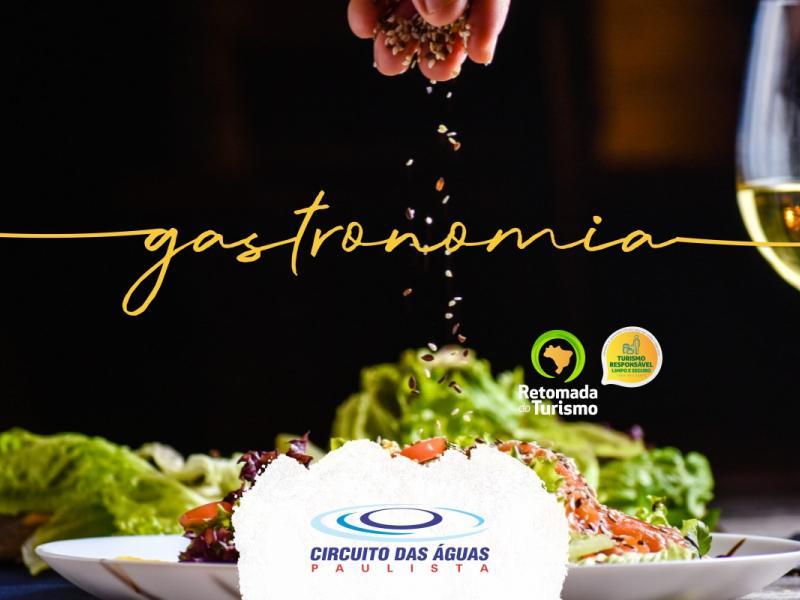 Gastronomia diversificada é atrativo para retomada do turismo no Circuito das Águas Paulista
