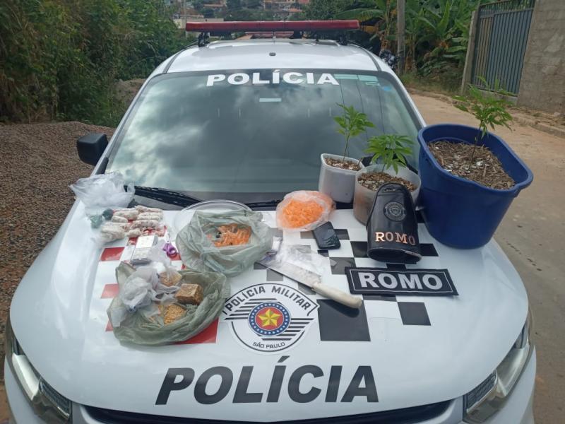 Homem é detido por tráfico no Nova Serra Negra
