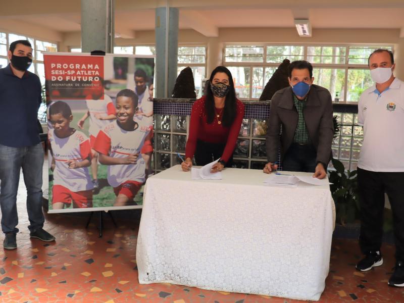 Serra Negra contará com 455 alunos atendidos pelo Atletas do Futuro