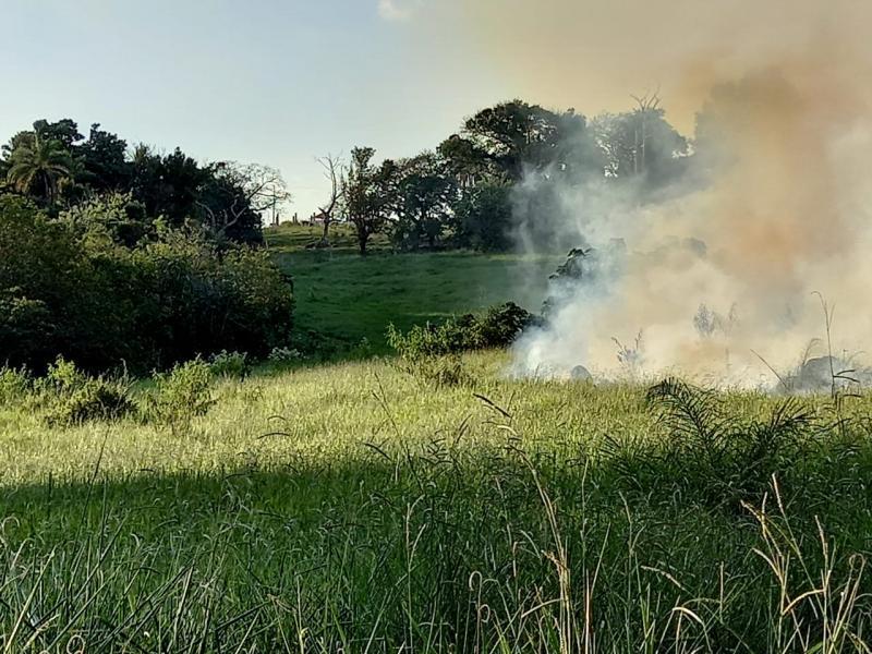 Jaguariúna alerta para focos de incêndio e estiagem prolongada