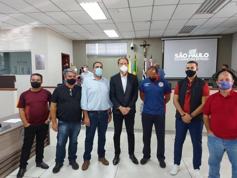 Secretário de Esportes de Amparo esteve reunido com gestores Municipais e do Estado