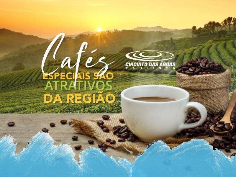 Cafés Especiais do Circuito das Águas Paulista são atrativos da Região