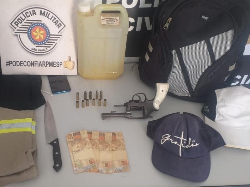 Ação conjunta apreende armas e munições em Amparo