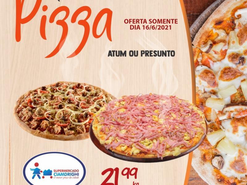 Ciamdrighi tem ofertas em pizzas, hortifrúti e mais 40 opções para hoje