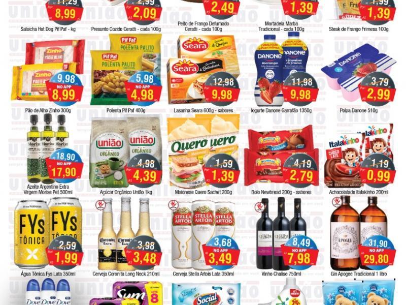 União Supermercados tem quinta-feira de mais de 60 ofertas
