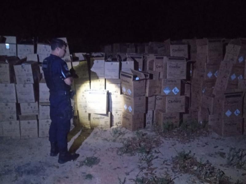 Romu de Jaguariúna recupera caminhão e carga roubada