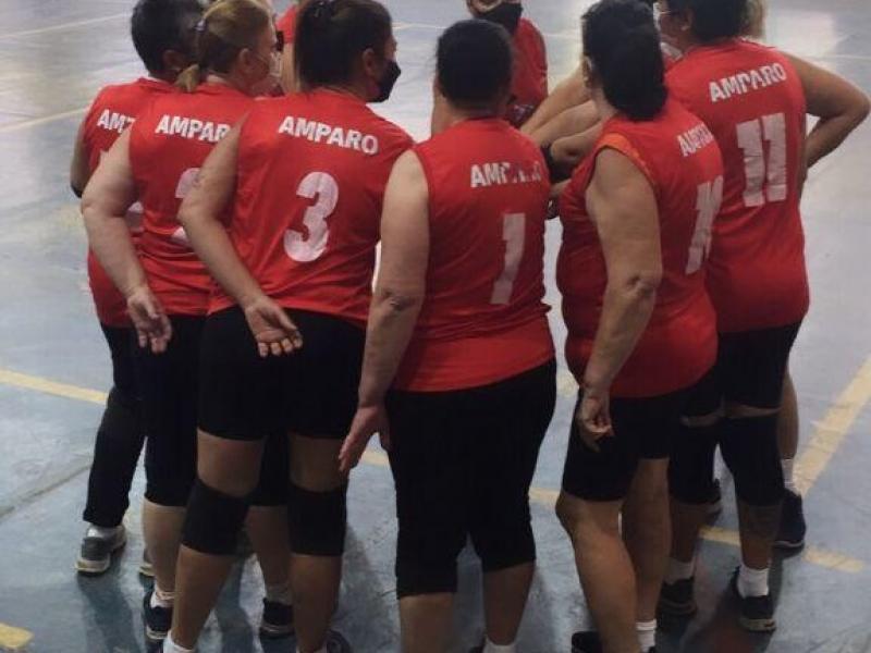 Voleibol Adaptado de Amparo está na fase final, em Campinas
