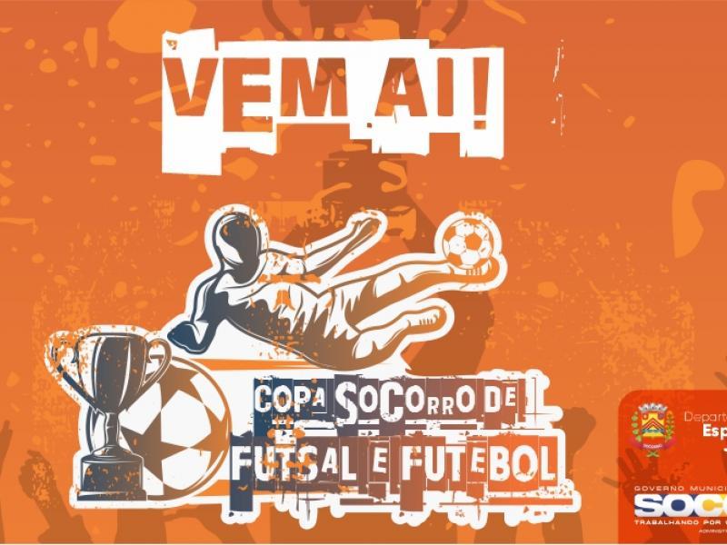 Socorro terá Copa de Futebol e Futsal