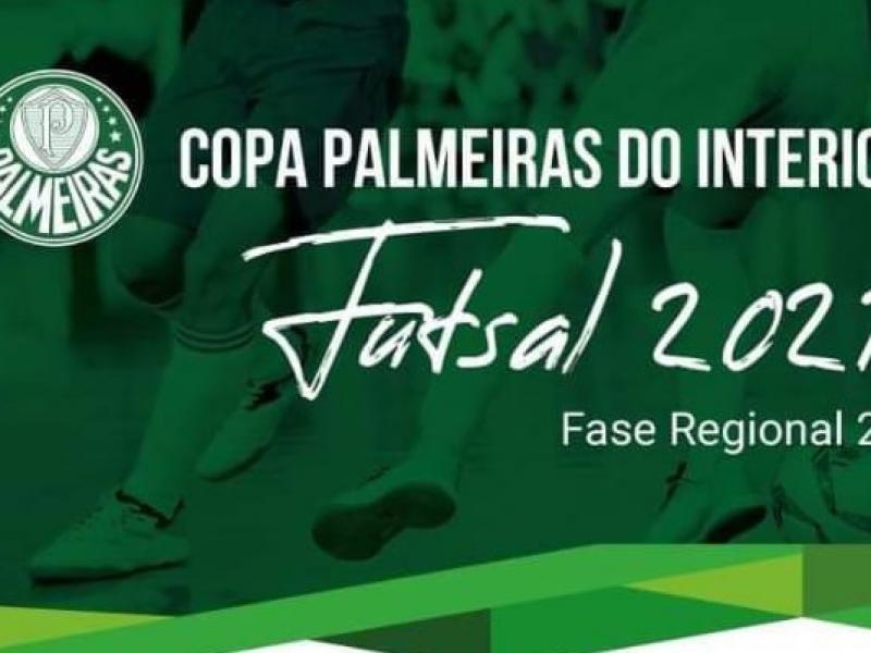 Estão abertas as inscrições para a Copa Palmeiras do Interior de Futebol de Salão