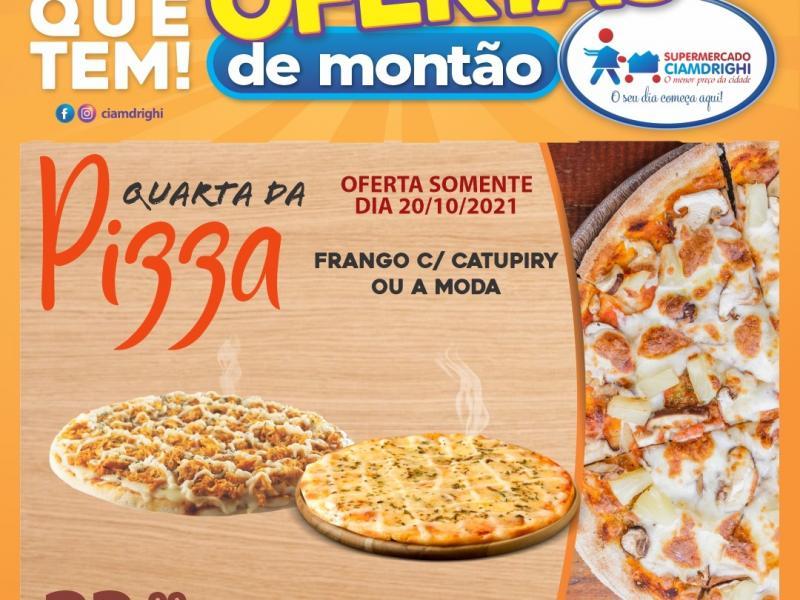 Quarta de Pizza, Hortifrúti e mais 30 ofertas no Ciamdrighi