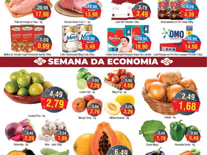 União Supermercados tem 60 ofertas para o meio de semana